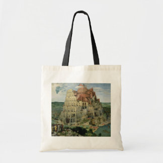 Tower of Babel, 1563 (oil on panel) Tote Bag