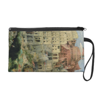 Tower of Babel, 1563 (oil on panel) Wristlet Purse