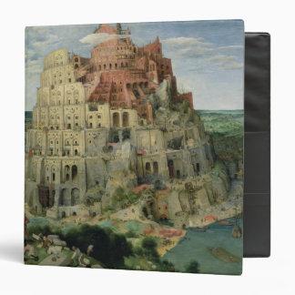 Tower of Babel 3 Ring Binder