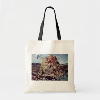 Tower Of Babel,  By Bruegel D. Ä. Pieter Tote Bag