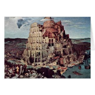 Tower Of Babel,  By Bruegel D. Ä. Pieter Cards