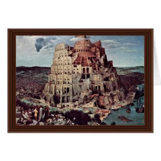 Tower Of Babel,  By Bruegel D. Ä. Pieter Greeting Cards