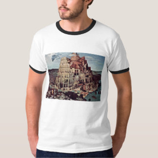 Tower Of Babel,  By Bruegel D. Ä. Pieter T-Shirt
