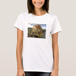 Tower of Babel by Brueghel T-Shirt