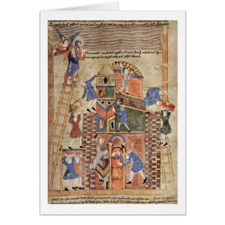 Tower Of Babel By Master Of The Paraphrases Greeting Card