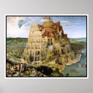 Tower of Babel by Peter Bruegel Print