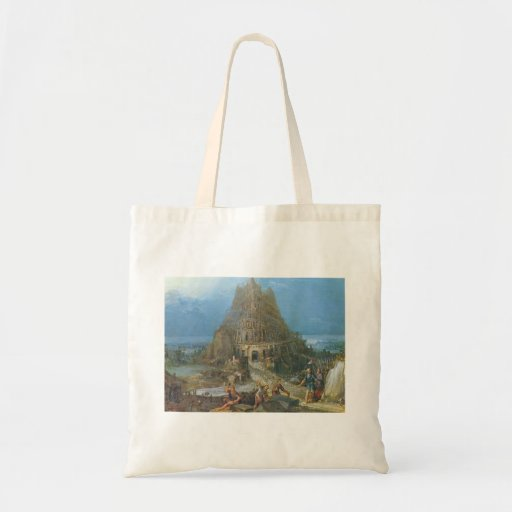Tower of Babel by Pieter Bruegel Budget Tote Bag
