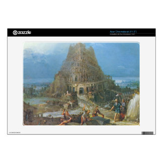 Tower of Babel by Pieter Bruegel Decal For Acer Chromebook
