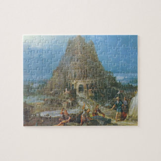 Tower of Babel by Pieter Bruegel Jigsaw Puzzle