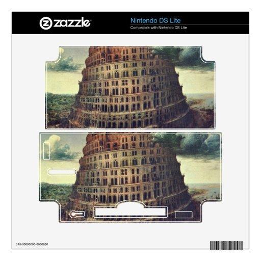 Tower of Babel by Pieter Bruegel Nintendo DS Lite Decal