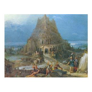 Tower of Babel by Pieter Bruegel Postcard