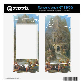 Tower of Babel by Pieter Bruegel Decal For Samsung Wave