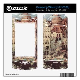 Tower of Babel by Pieter Bruegel Samsung Wave Decal