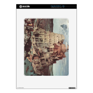 Tower of Babel by Pieter Bruegel Skins For iPad