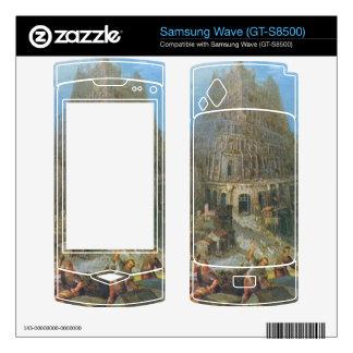Tower of Babel by Pieter Bruegel Samsung Wave Skins