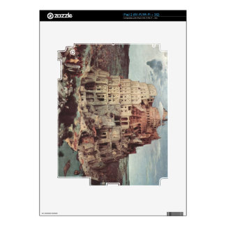 Tower of Babel by Pieter Bruegel Decal For iPad 2