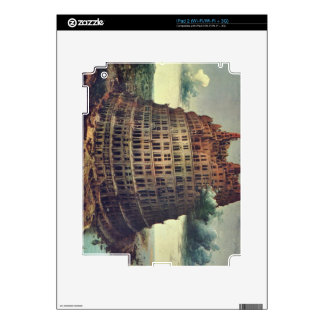 Tower of Babel by Pieter Bruegel Decal For The iPad 2