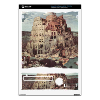 Tower of Babel by Pieter Bruegel Skins For The Xbox 360 S