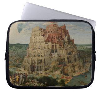 Tower of Babel by Pieter Bruegel the Elder Laptop Computer Sleeves