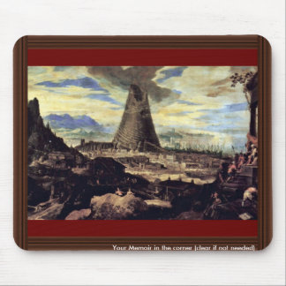 Tower Of Babel By Toeput Lodewyk Mouse Pad