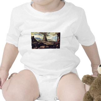 Tower Of Babel By Toeput Lodewyk Tee Shirt