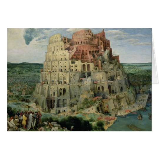 Tower of Babel Card