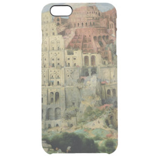 Tower of Babel Clear iPhone 6 Plus Case