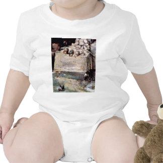 Tower Of Babel, Detail By Bruegel D. Ä. Pieter (Be Baby Creeper