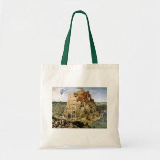 Tower of Babel - Peter Bruegel Budget Tote Bag