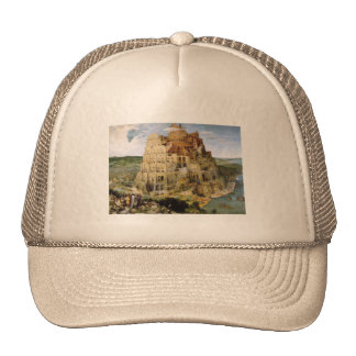 Tower of Babel - Peter Bruegel Mesh Hats