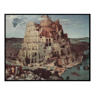 Tower of Babel Posters