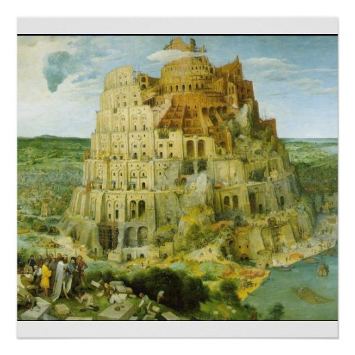 Tower of Babel - POSTER