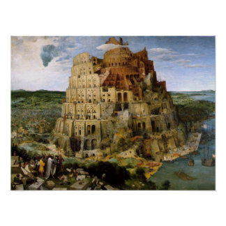 Tower of Babel Print
