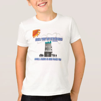 Tower of babel. T-Shirt
