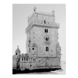 Tower of  Belem Poster