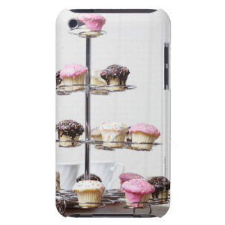 Tower of cupcakes or patty cakes iPod touch Case-Mate case
