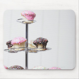 Tower of cupcakes or patty cakes mouse pad
