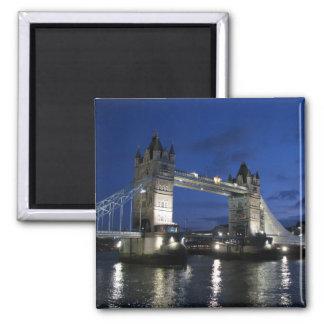 Tower of London Bridge 2 Inch Square Magnet