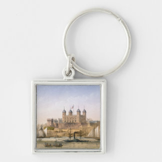 Tower of London, c.1862 (colour litho) Keychains