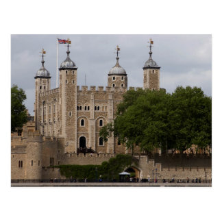 Tower Of London England Seen From Across The River Postcard