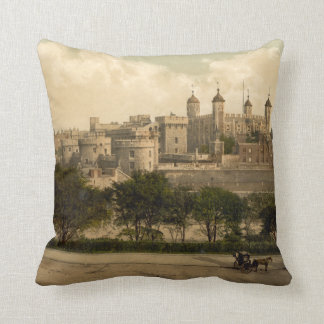 Tower of London, London, England Throw Pillow