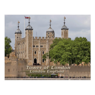 Tower of London - London England Post Card