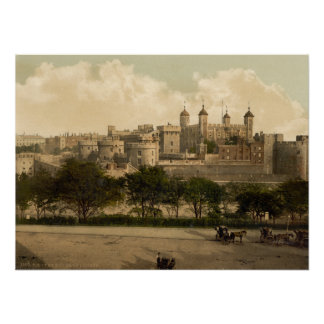 Tower of London, London, England Poster