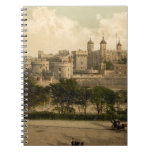 Tower of London, London, England Spiral Note Books