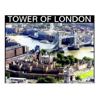 TOWER OF LONDON POSTCARD BY MOJISOLA A GBADAMOSI