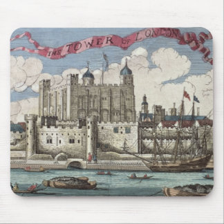 Tower of London Seen from the River Thames Mouse Pad