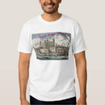 Tower of London Seen from the River Thames Tee Shirt
