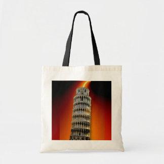 Tower of Pisa Energy Tote Bag