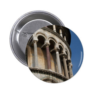Tower of Pisa, Italy Pinback Buttons