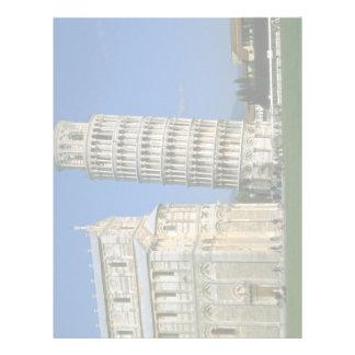 Tower of Pisa, Italy Letterhead
